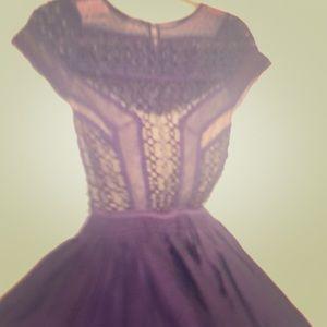 NEW Free People Purple Lace Dress
